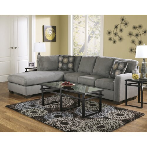 Signature design by ashley waverly sectional reviews for Wayfair sectionals