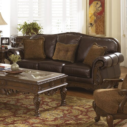 Dale Leather Sofa