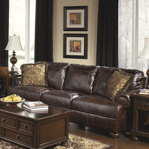 Heath Leather Sofa