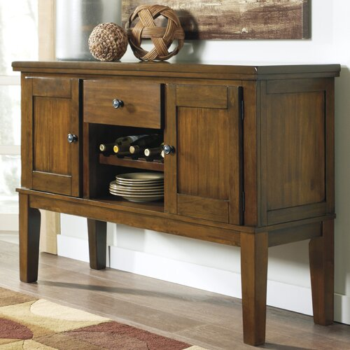 design by ashley ralene dining room sideboard reviews wayfair