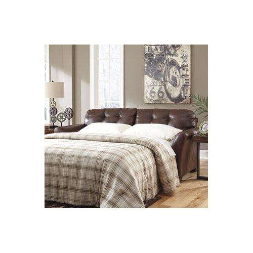 SantigoLeather Sleeper Sofa
