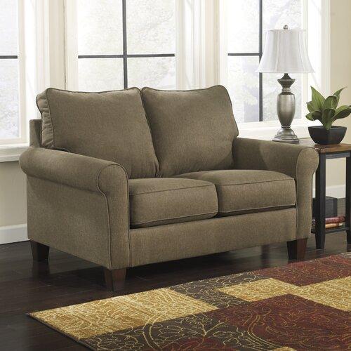 Modern Twin Sleeper Sofa: Signature Design By Ashley Zeth Twin Sleeper Sofa