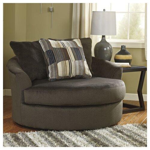 Westen Oversized Swivel Arm Chair