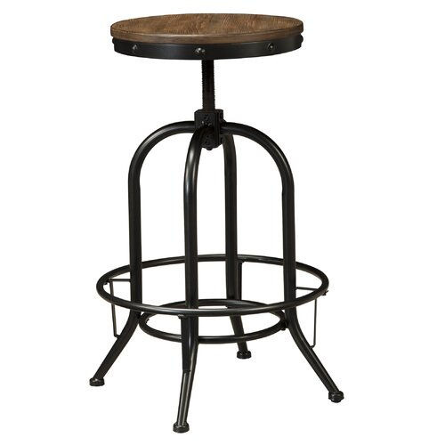 Signature Design By Ashley Pinnadel 30 Quot Swivel Bar Stool
