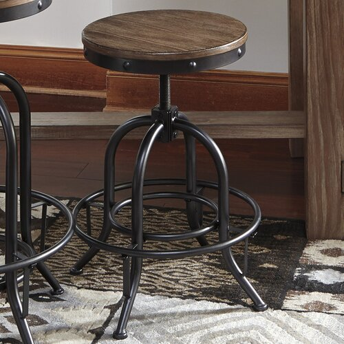 Signature Design By Ashley Pinnadel 24 Quot Swivel Bar Stool