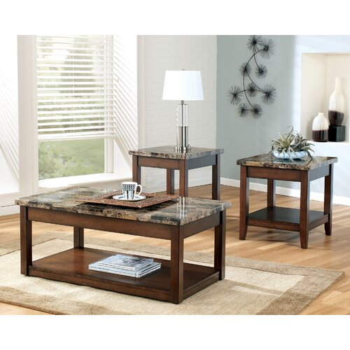Signature Design by Ashley Thorndike 3 Piece Coffee Table Set