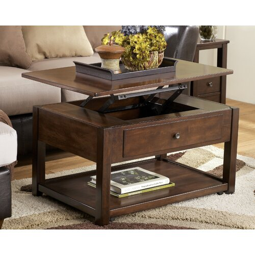 Signature Design by Ashley Machias Coffee Table with Lift-Top