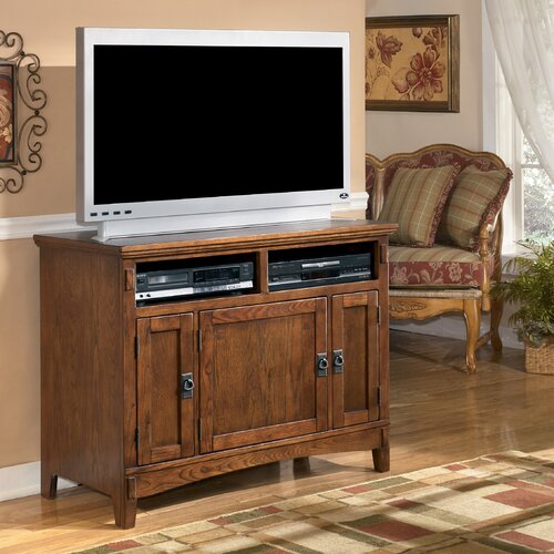 "Signature Design by Ashley Castle Hill 42"" TV Stand"