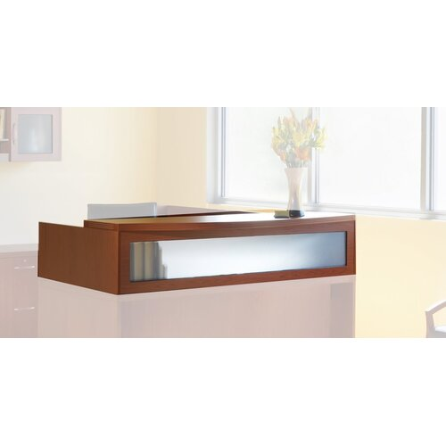 "Mayline Group Aberdeen Series 15.63"" H x 72"" W Reception Desk Hutch"