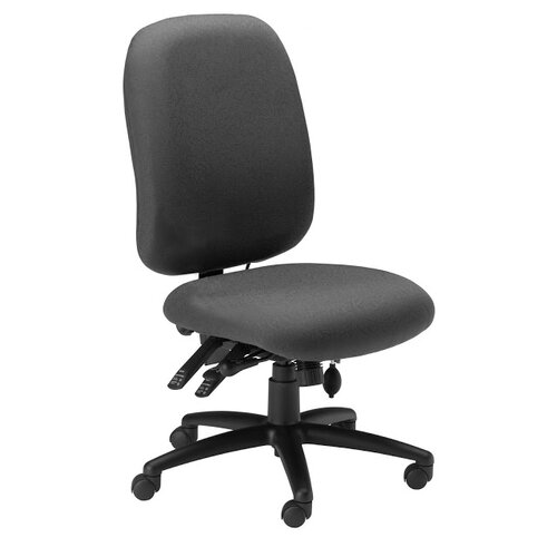 Mayline Group Mid-Back Fabric Performance Chair