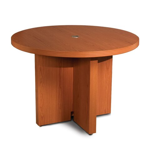"Mayline Group Aberdeen Series 3'6"" Round Conference Table"