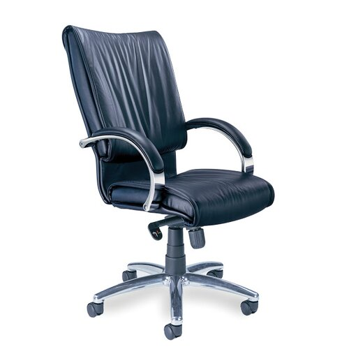 Mayline Group High-Back Leather President Office Chair