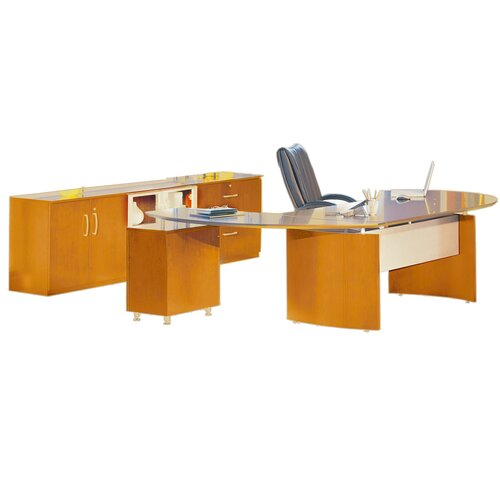 Mayline Group Napoli Series Standard Desk Office Suite
