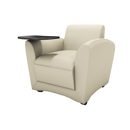 Lounge Series Santa Cruz Mobile Lounge Chair with Tablet