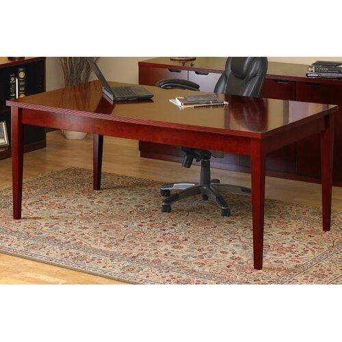 Mayline Group Luminary Series Writing Desk with 2 Shelf