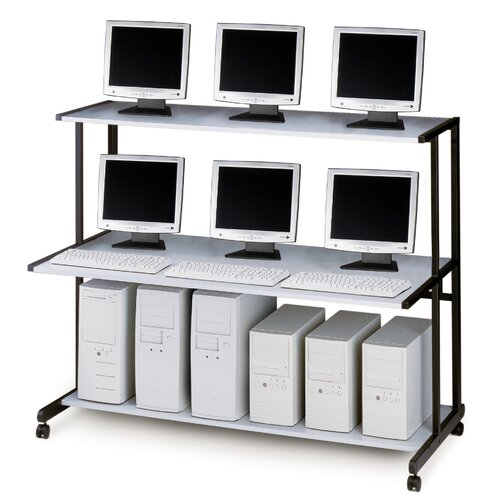 Mayline Group IT Furniture NetStart LAN Support Stations