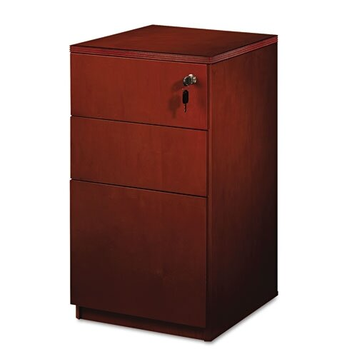 Luminary 3-Drawer Freestanding Box/Box/File Pedestal