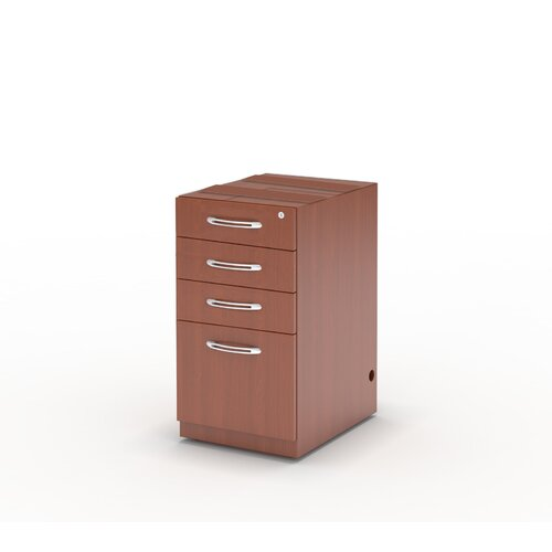 Aberdeen 1-Drawer Pencil/Box/Box/File Pedestal