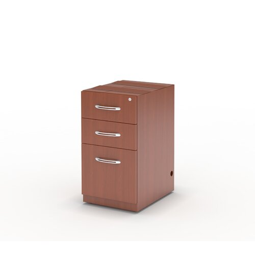 Aberdeen 3-Drawer Pencil/Box/File Pedestal