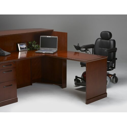 "Mayline Group Sorrento Series 45"" H x 72"" W Reception Station"