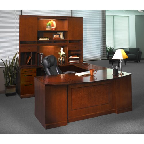 Mayline Group Sorrento Series Typical #2 Standard Desk Office Suite