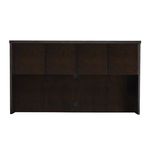 "Mayline Group Mira Series 39"" H x 70"" W Desk Hutch"