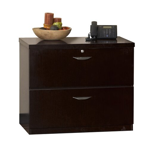 Mayline Group Mira Series 2-Drawer Freestanding Lateral File