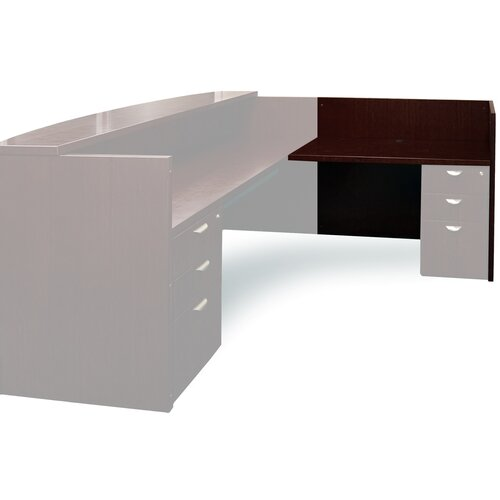 "Mayline Group Mira Series 29.38"" H x 48"" W Desk Return"