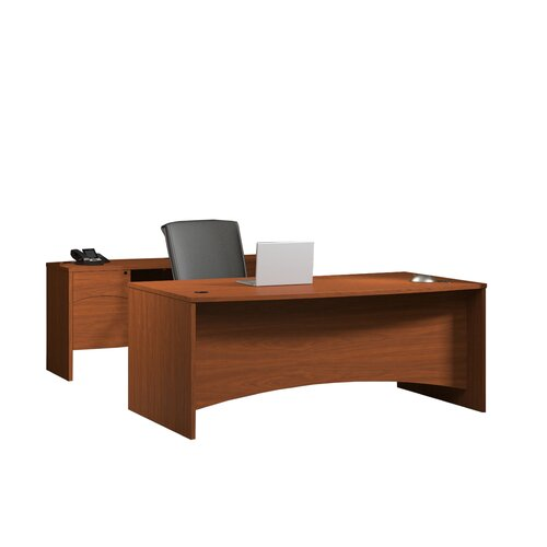 Mayline Group Brighton Series Standard Desk Office Suite