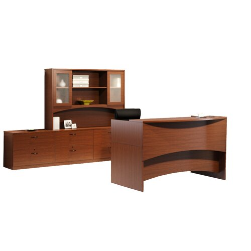 Mayline Group Brighton Series Reception Desk Office Suite