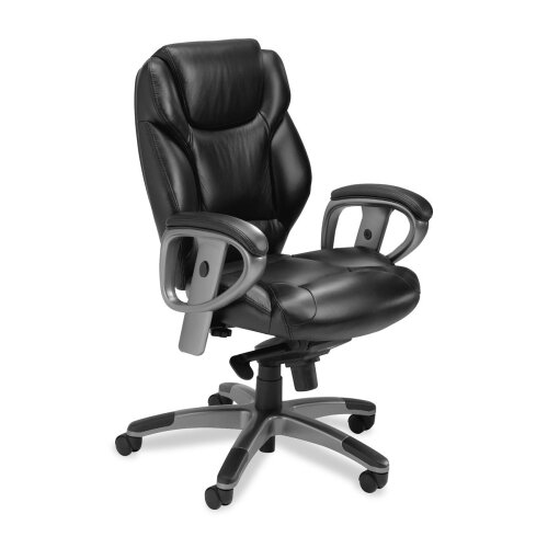 Series 300 Mid-Back Leather Office Chair