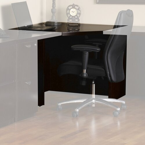 Mayline Group Mira Series Corner End Table