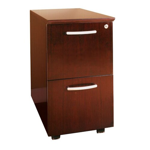 2-Drawer Mobile File Pedestal