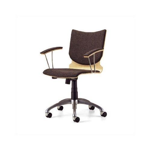 Source Seating Mid-Back Zag Moves Swivel Chair