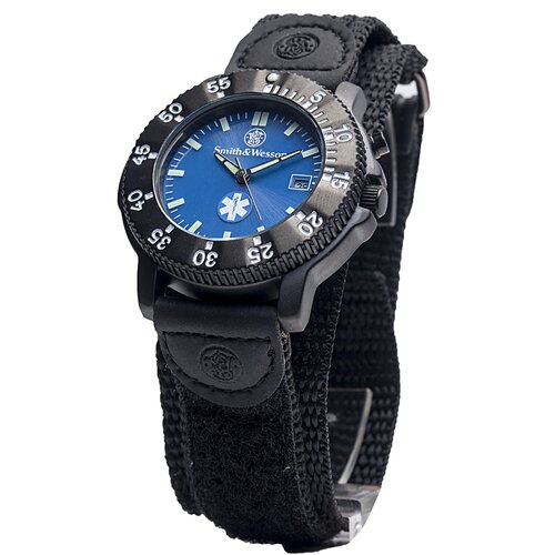 Smith & Wesson EMT Men's Round Face Watch
