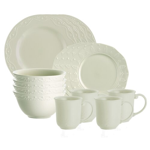 Whitaker 16 Piece Dinnerware Set