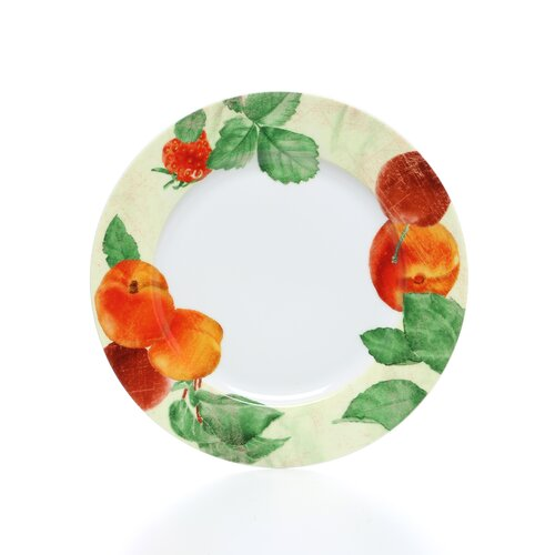 "Paula Deen Signature Dinnerware 12"" Georgia's Bounty Dinner Plates"