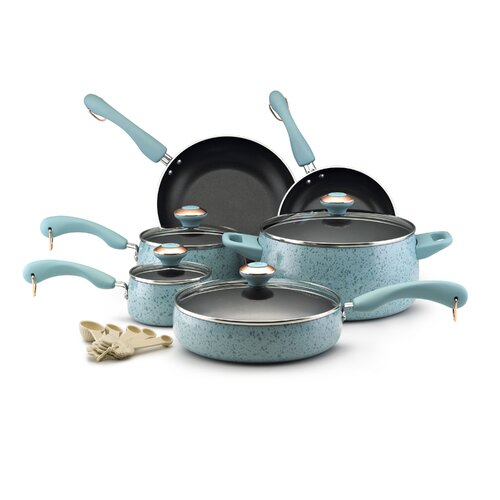 Paula Deen Porcelain 15-Piece Cookware Set