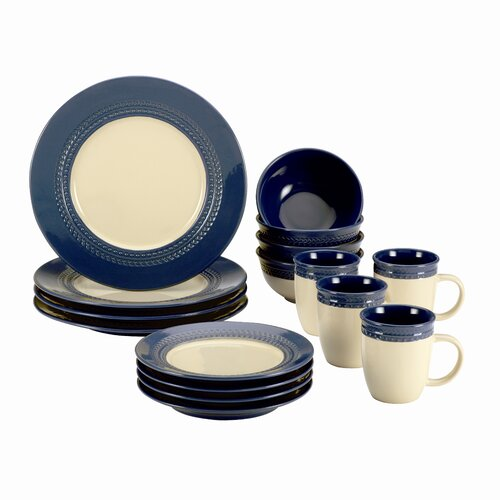 Signature Dinnerware Southern Gathering 16 Piece Dinnerware Set