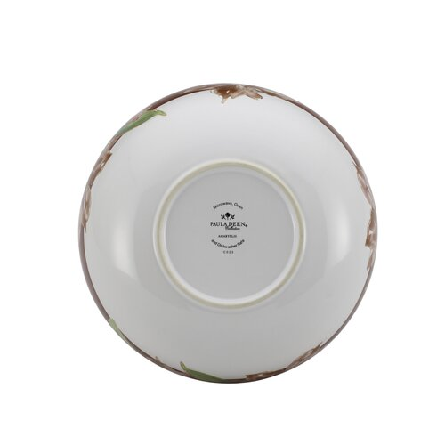 "Paula Deen Signature Amaryllis 9.75"" Serving Bowl"