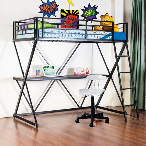 Zinnia Twin Loft Bed