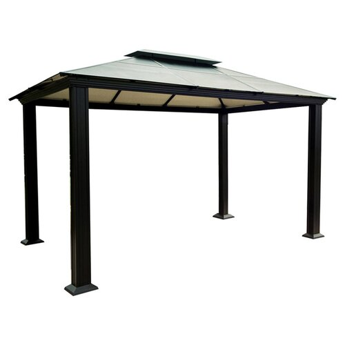 "STC Monica Four Season 9' 11"" W x 13' 3"" D Gazebo"