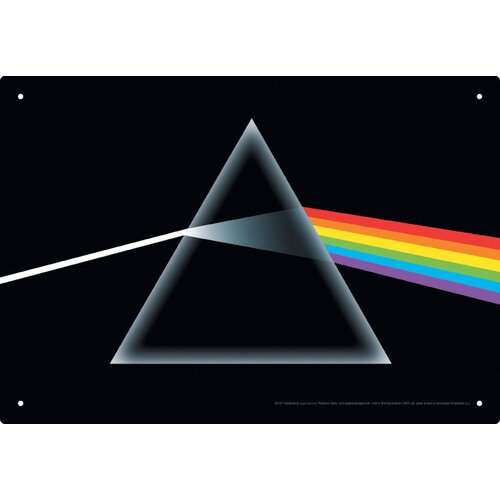 Pink Floyd Dark Side Tin Sign Graphic Art
