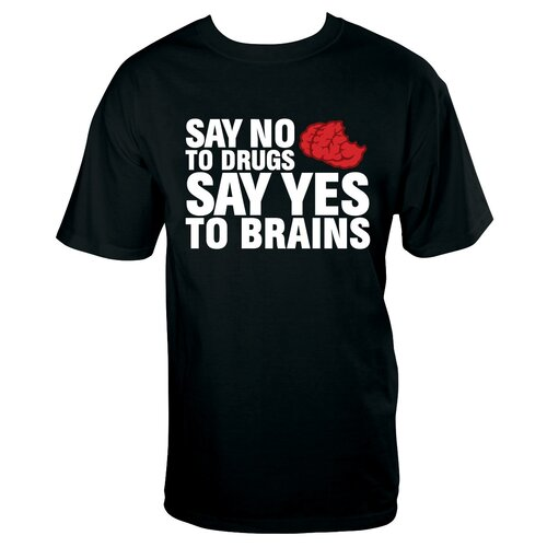 NMR Distribution No Drugs Brains T Shirt