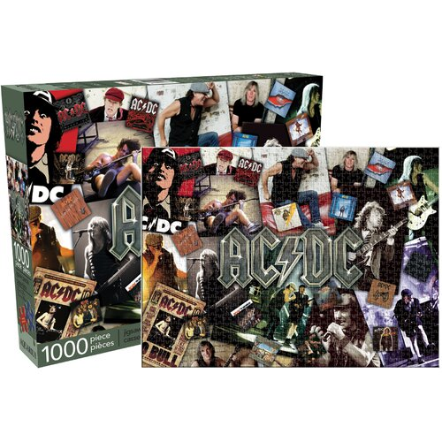 AC DC Collage 1000 Piece Jigsaw Puzzle