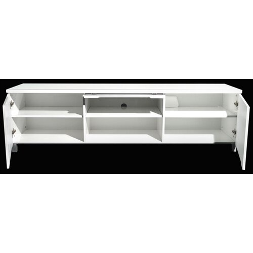 By Designs Heidi Entertainment Unit in High Gloss White