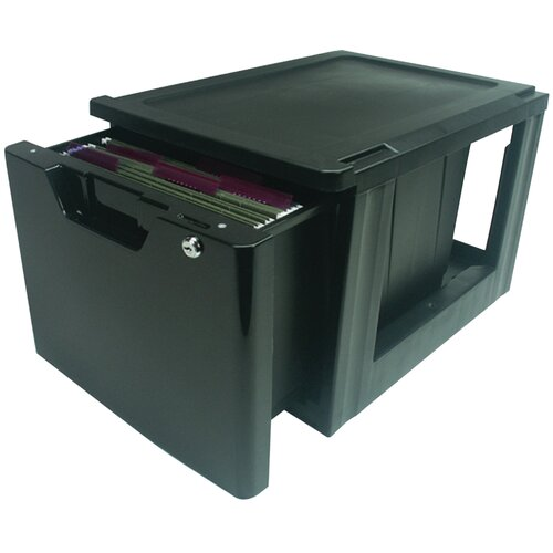 1-Drawer Premier Stacking Letter File with Lock