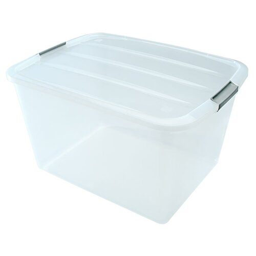 Buckle Up Clear Box Storage (Set of 6)