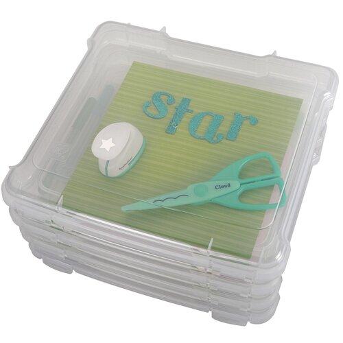 Iris Scrapbook Slim Portable Project Case
