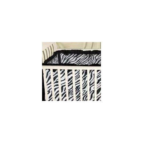 Sin In Linen Zebra Baby Crib Bumper